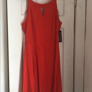 New York and company halter fit & flare dress!